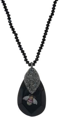 Joan Rivers Classics Collection Joan Rivers Crystal Pave' Bee Stone Pendant Necklace