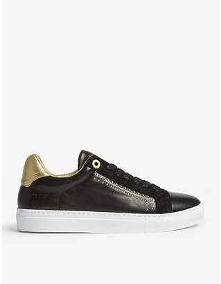 Zadig & Voltaire ZV1747 leather trainers