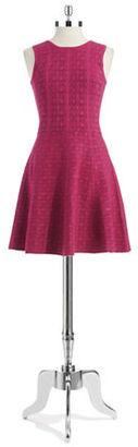 Ali Ro Diamond Patterned Dress $298 thestylecure.com