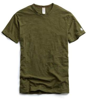 Todd Snyder + Champion Champion Classic T-Shirt in Military Olive