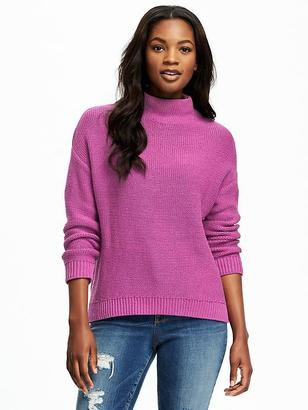 Mock-Neck Sweater for Women $32.94 thestylecure.com
