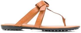Tod's logo sandal