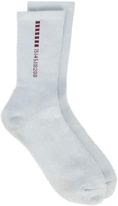 Visitor On Earth logo socks