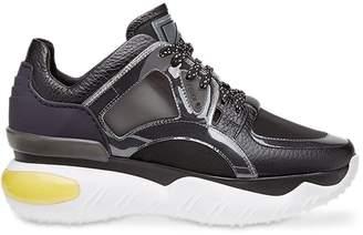 Fendi sheer panels chunky sneakers