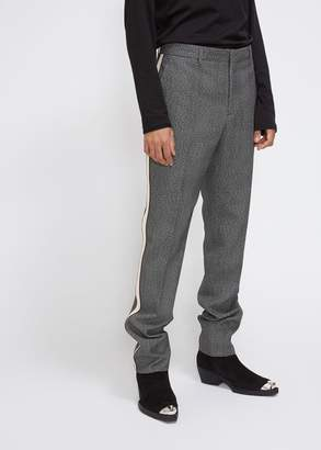 Calvin Klein Glen Plaid Ribbon Stripe Trouser