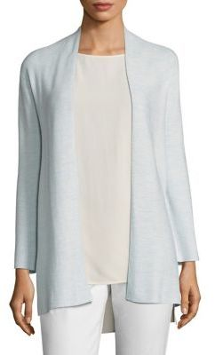 Eileen Fisher Long Sleeve Kimono Cardigan $358 thestylecure.com