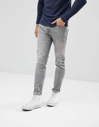 Celio Slim Fit Jeans In Gray Wash