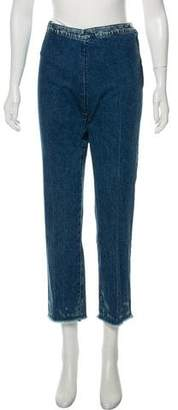 Rachel Comey High-Rise Straight-Leg Jeans w/ Tags