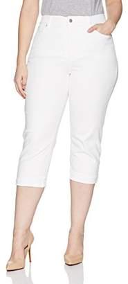 NYDJ Women's Plus Size Marilyn Crop Cuff Jean
