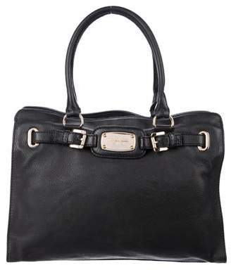 MICHAEL Michael Kors Leather Hamilton Satchel