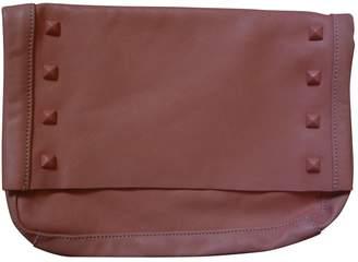 Paul & Joe Orange Leather Clutch bag