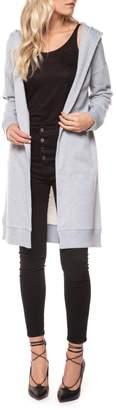 Dex Hooded Open Cardigan