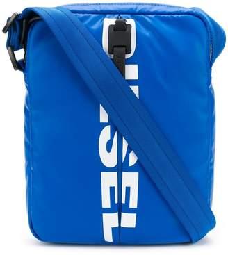 Diesel logo messenger bag