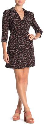 re:named apparel Geneva Floral Mini Dress