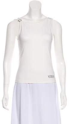 Versace Hardware-Accented Sleeveless Top