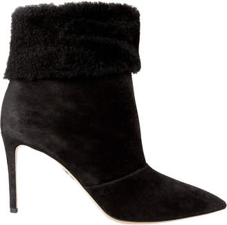 Paul Andrew Banner Shearling Booties