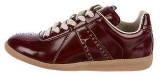 Maison Margiela Brogue Low-Top Sneakers