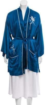 Giada Forte Belted Wool Kimono w/ Tags