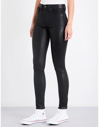 Rag & Bone Skinny leather trousers