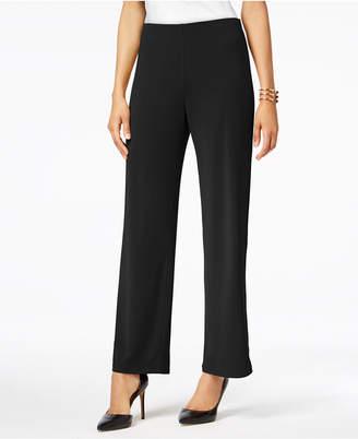 Alfani Petite Knit Wide-Leg Pant