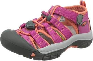 Keen Girl's Newport H2 Sandals, Very Berry/Fusion Coral