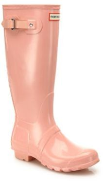 Hunter Original Gloss Rainboots $150 thestylecure.com