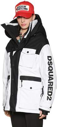 DSQUARED2 Hooded Nylon Ski Jacket