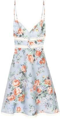 Zimmermann Bowie floral linen dress