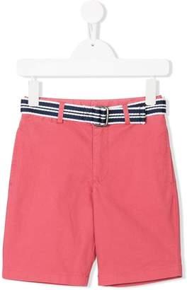 Ralph Lauren belted chino shorts