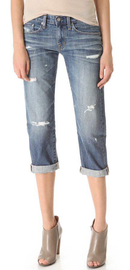 AG Ex Boyfriend Crop Jeans
