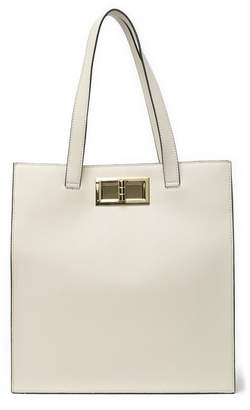 Christian Siriano New York Laverne North South Editor Faux Leather Tote
