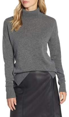 Halogen Cashmere Turtleneck Sweater (Regular & Petite)