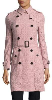Burberry Double-Breasted Chic Coat