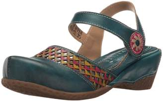 Spring Step L'Artiste by L'Artiste by Women's Amour-Tl Wedge Sandal