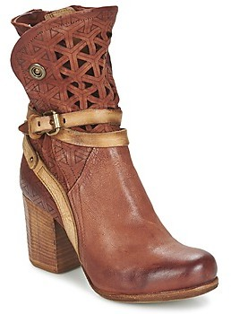 Air Step A.S.98 SOURCE women's Low Ankle Boots in Brown