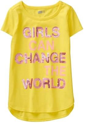 Crazy 8 Girls Change The World Tee