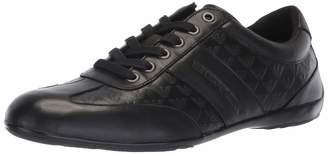 Emporio Armani Men's Logo Penny Loafer Sneaker, Night