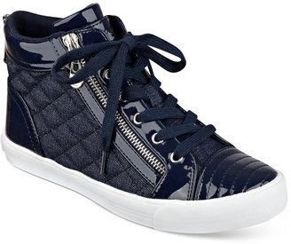 G by GUESS Orily Quilted High-Top Sneakers $69 thestylecure.com