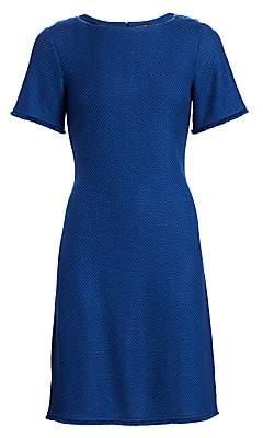 St. John Women's Gridded Texture Knit Dress