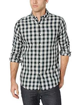 Chaps Men's Plaid Fashion Long Sleeve Sport Shirt