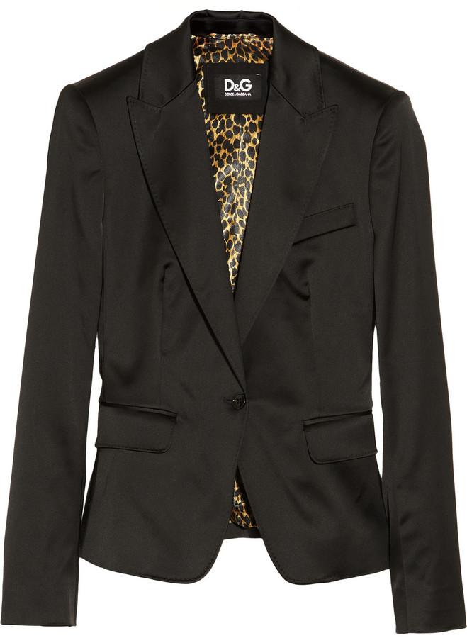 D&G Satin jacket