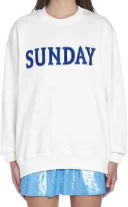 Alberta Ferretti 'raimbow Week' Sweatshirt