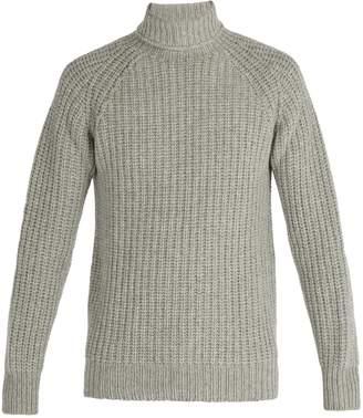 Officine Generale Lambswool roll-neck sweater