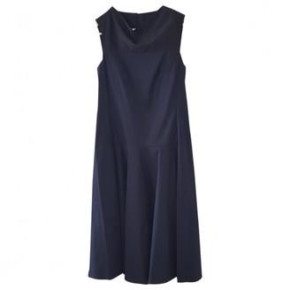 Cos Navy Cotton - elasthane Dress for Women