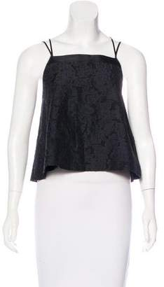 Elizabeth and James Patterned Sleeveless Top