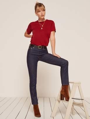 Reformation Winona Mid Slim Jean