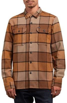Volcom Randower Plaid Flannel Shirt