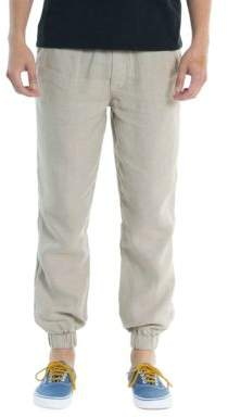 Original Paperbacks Tapered Linen Pants