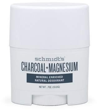 Schmidt Schmidt's Charcoal + Magnesium Mineral Enriched Natural Deodorant - 0.7oz