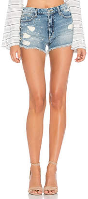 Joe's Jeans X Taylor Hill The Embellished Charlie Short $198 thestylecure.com